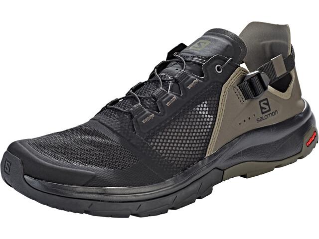 Salomon Techamphibian 4 Calzado Hombre, black/beluga/castor gray